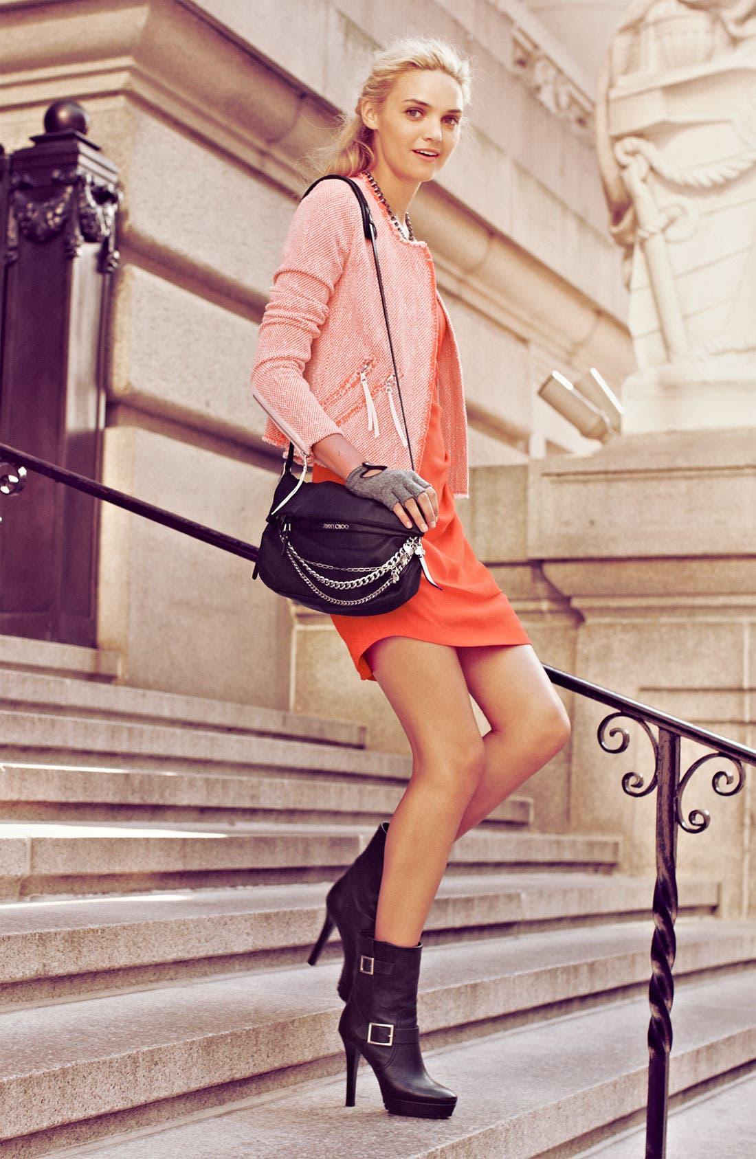 Alternate Image 4  - Rebecca Taylor Neon Tweed Jacket