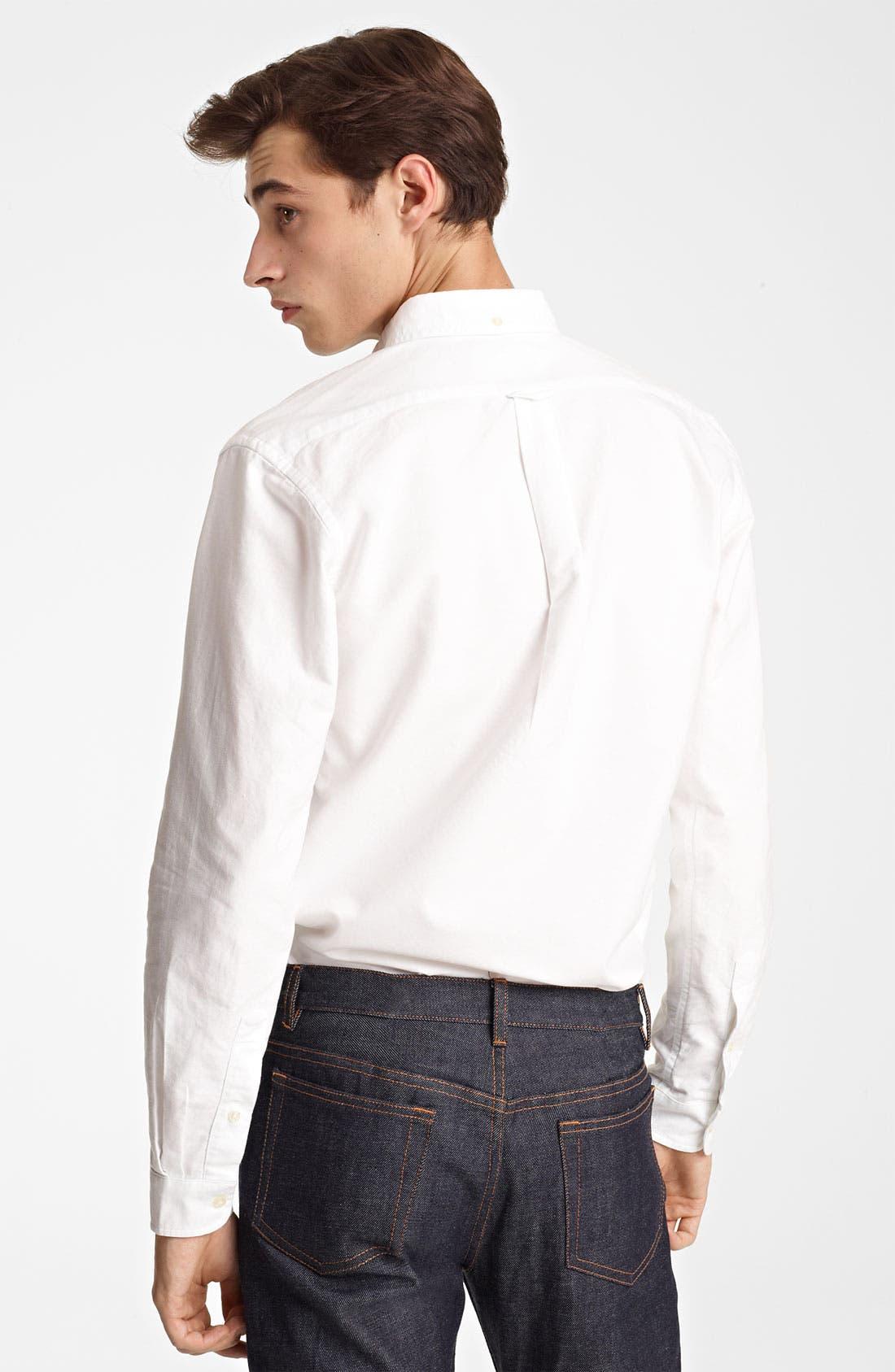 Alternate Image 3  - Grayers Trim Fit Sport Shirt