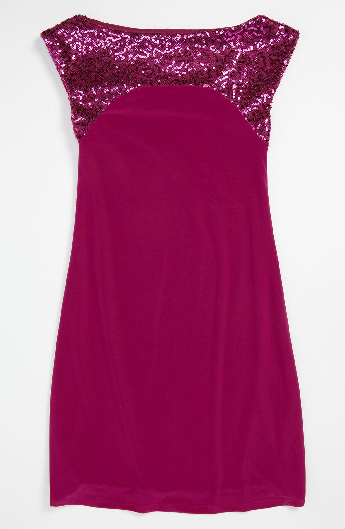 Alternate Image 1 Selected - Un Deux Trois Sequin Dress (Big Girls)