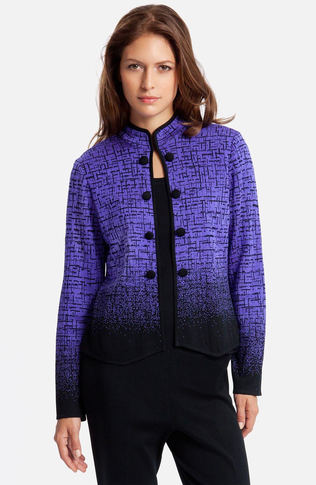 Main Image - Ming Wang Mandarin Collar Jacket