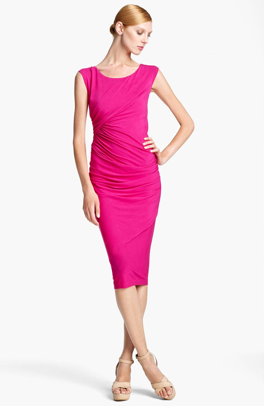 Alternate Image 1 Selected - Donna Karan Collection Draped Jersey Dress