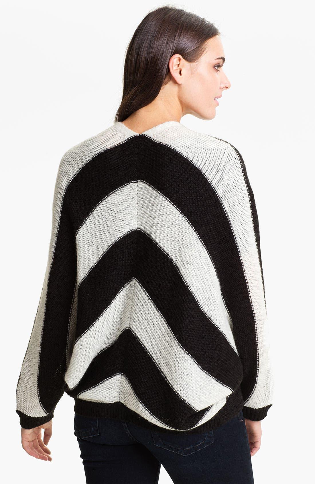 Alternate Image 2  - Current Affair Chevron Stripe Sweater