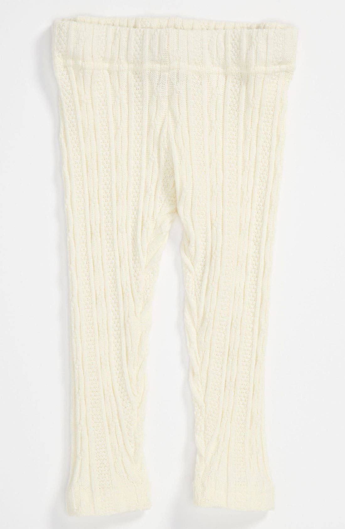 Alternate Image 1 Selected - Tucker + Tate 'Johanna' Cable Knit Leggings (Infant)