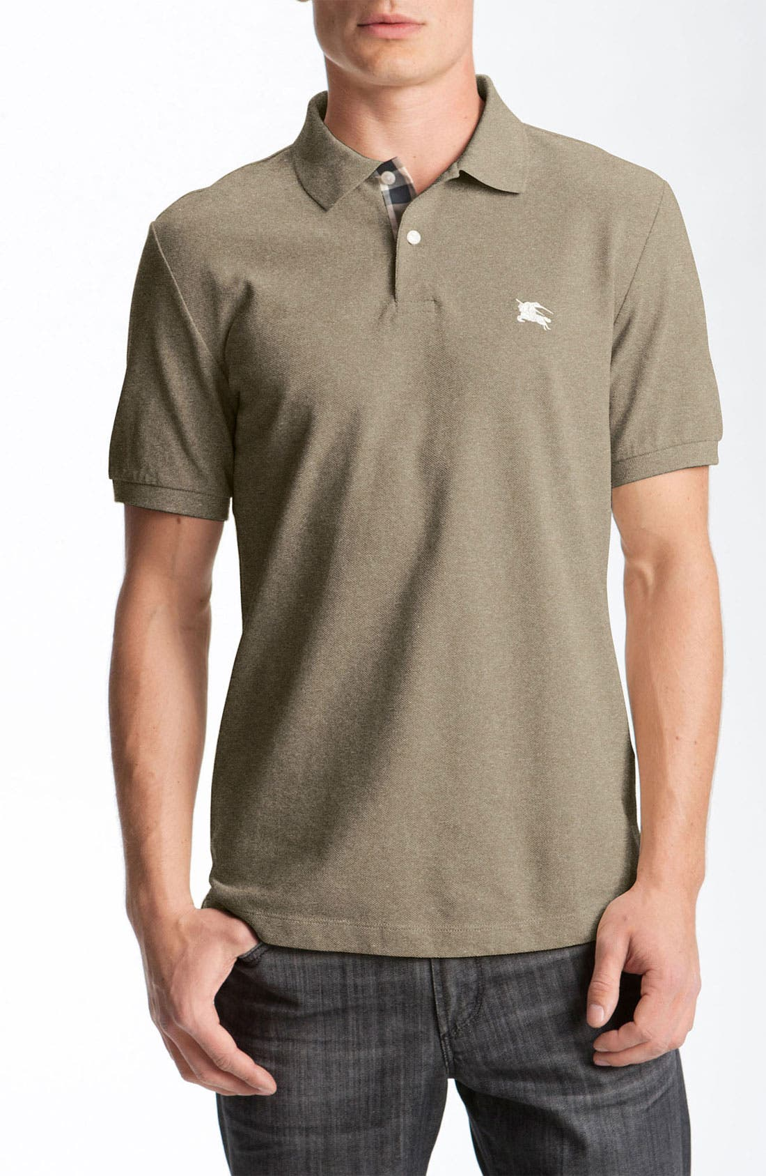 Alternate Image 1 Selected - Burberry Brit Modern Fit Piqué Polo