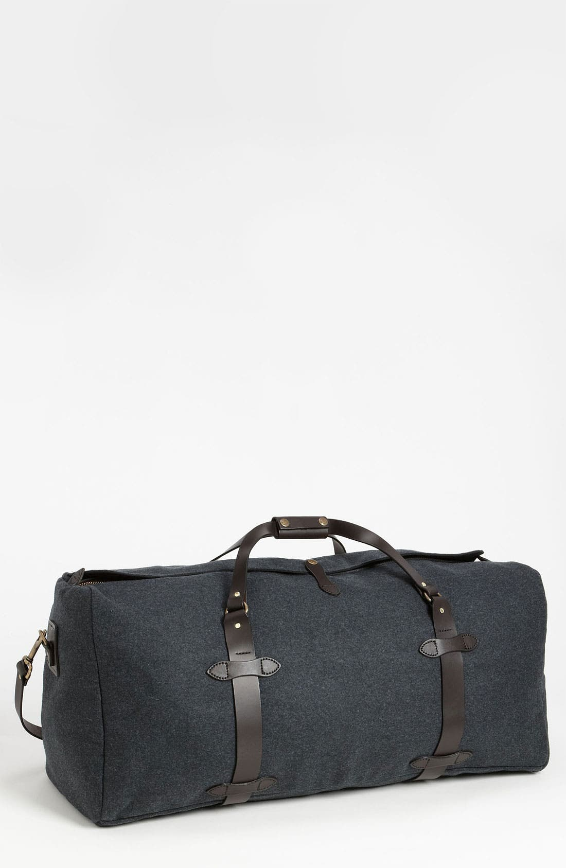 Large Wool Duffel Bag,                         Main,                         color, Charcoal