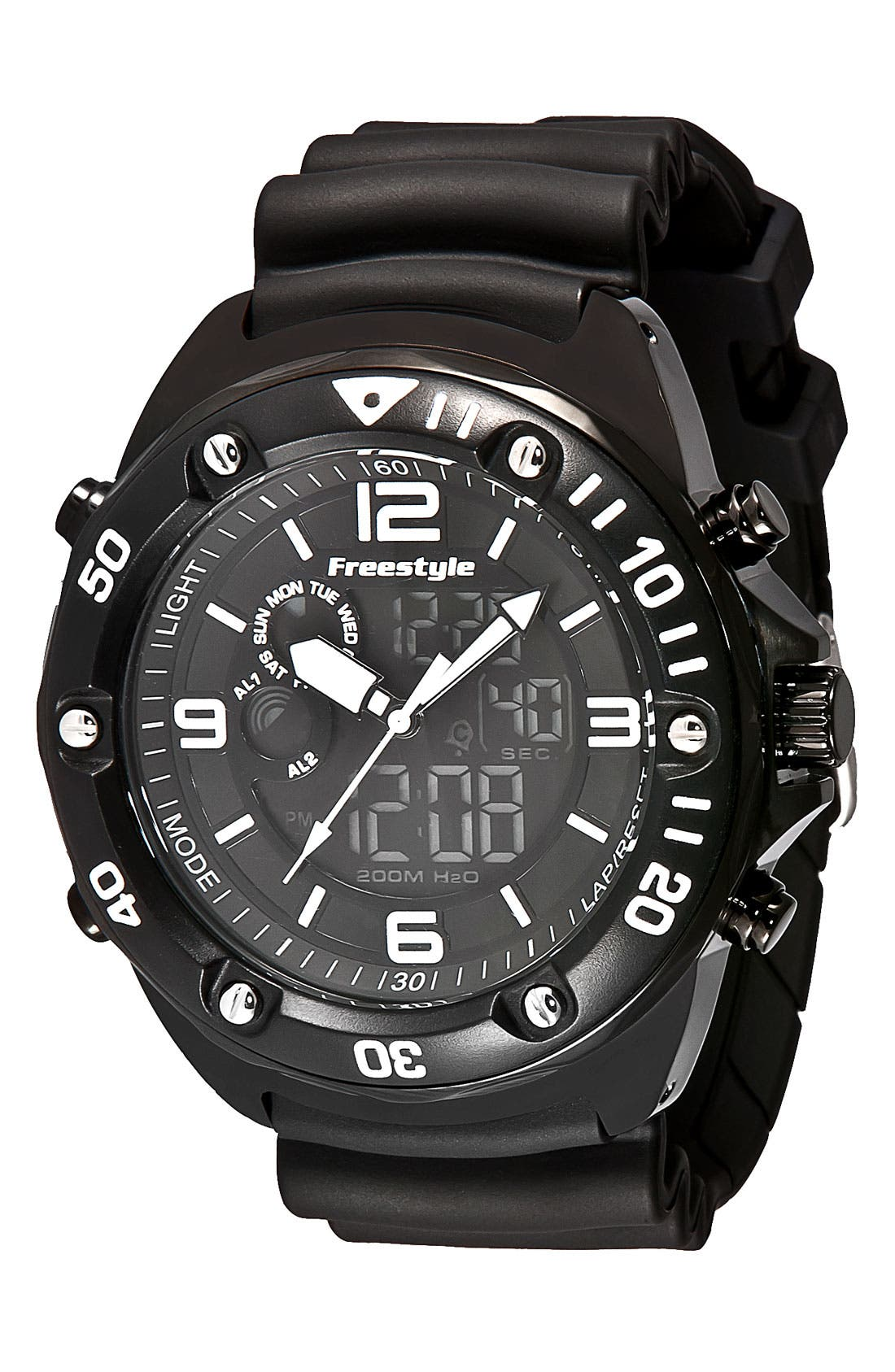 Main Image - Freestyle 'Precision 2.0' Dual Movement Sport Watch, 51mm