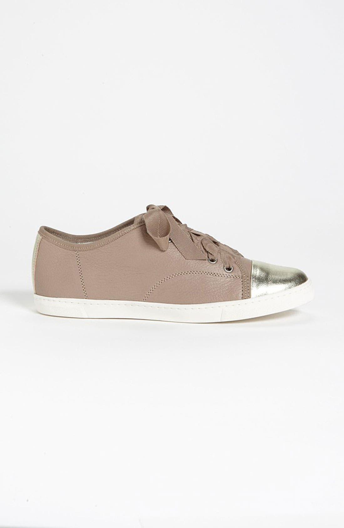 Alternate Image 4  - Lanvin Cap Toe Sneaker