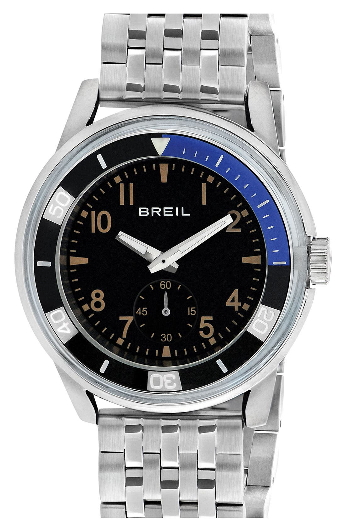 Alternate Image 1 Selected - Breil 'Orchestra' Round Bracelet Watch, 45mm
