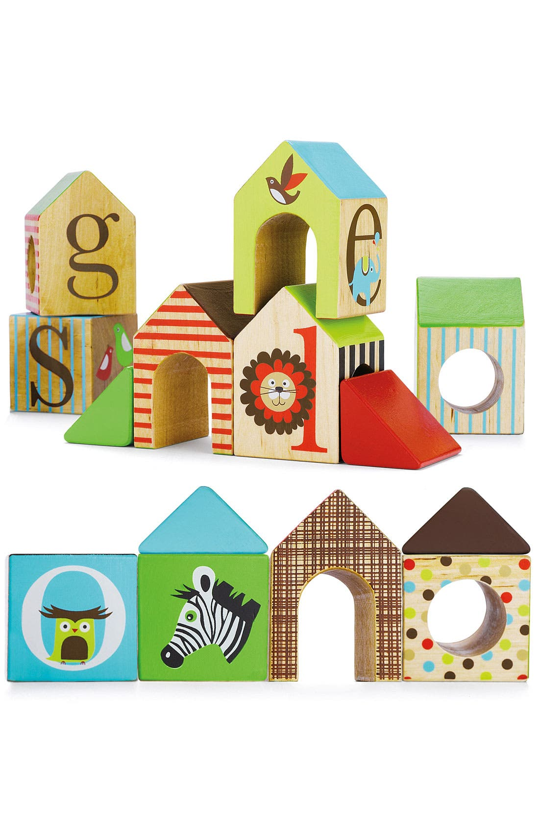 Alternate Image 3  - Skip Hop 'Alphabet Zoo' House Blocks