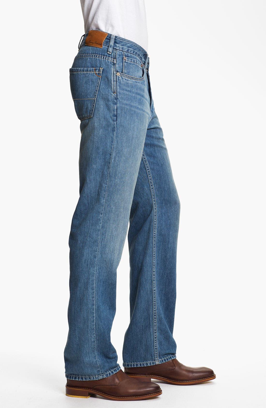 Alternate Image 3  - Tommy Bahama Denim 'Coastal Island Ease' Straight Leg Jeans (Light)