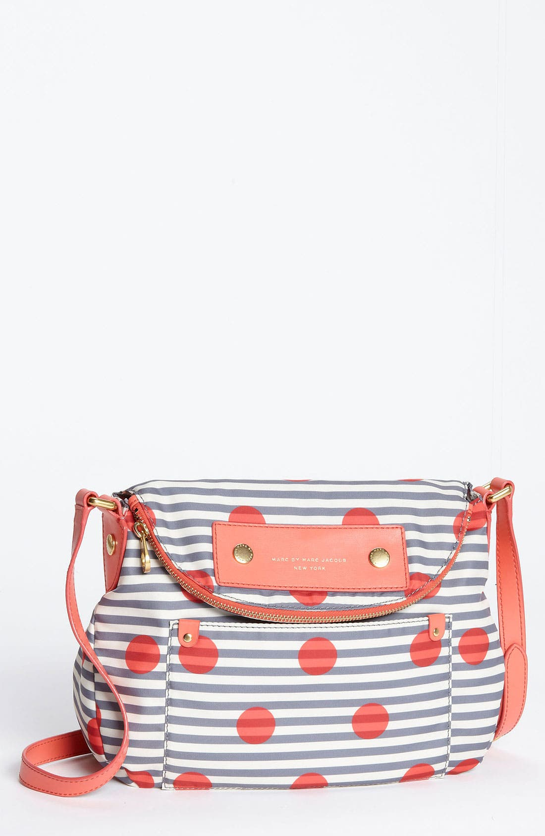 Main Image - MARC BY MARC JACOBS 'Preppy Nylon - Natasha' Print Crossbody Bag