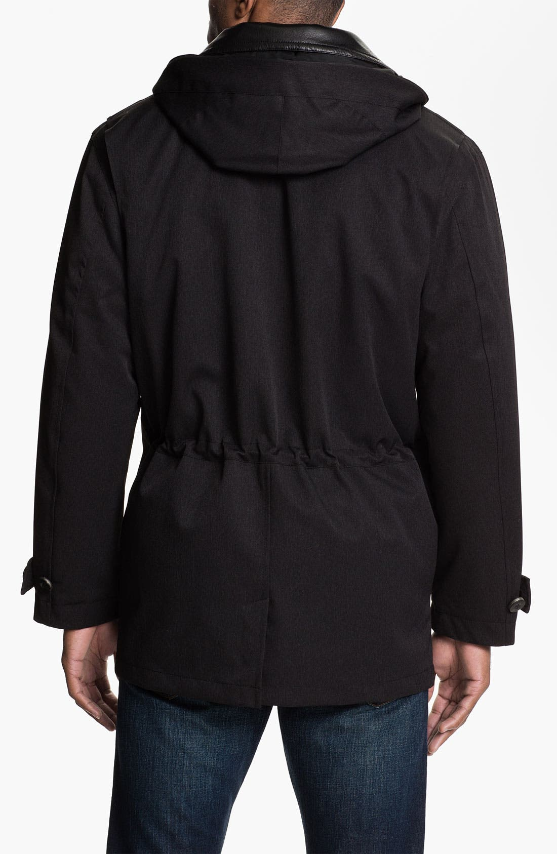 Alternate Image 2  - RAINFOREST Waterproof Mélange Jacket