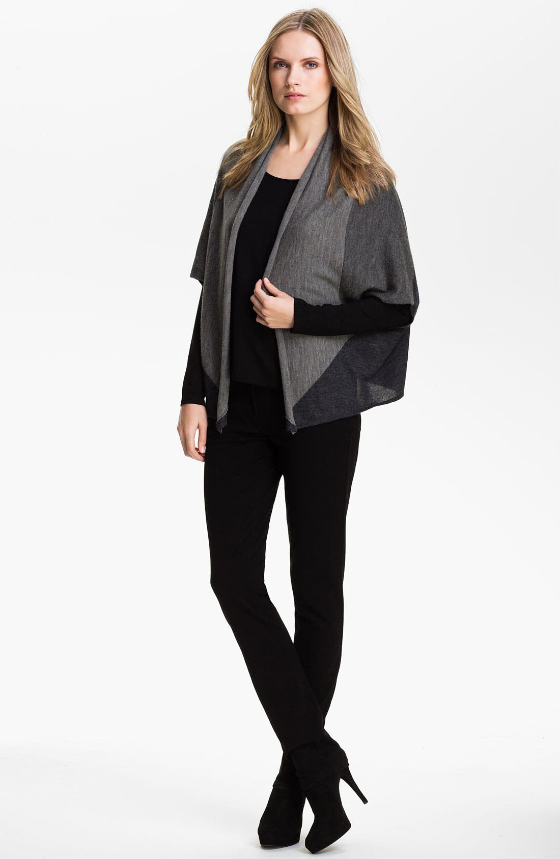 Alternate Image 4  - Eileen Fisher Colorblock Alpaca Cardigan (Online Exclusive)