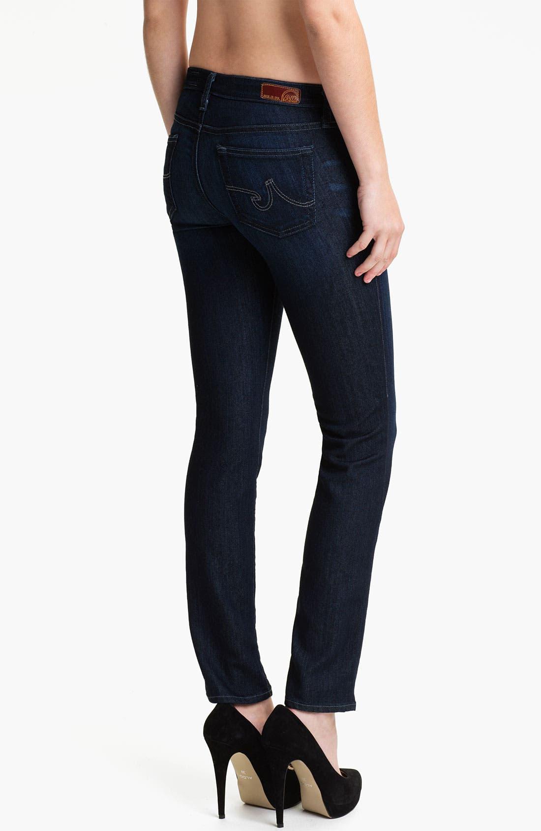 Alternate Image 2  - AG Jeans 'Stilt' Skinny Jeans (Chandelier)