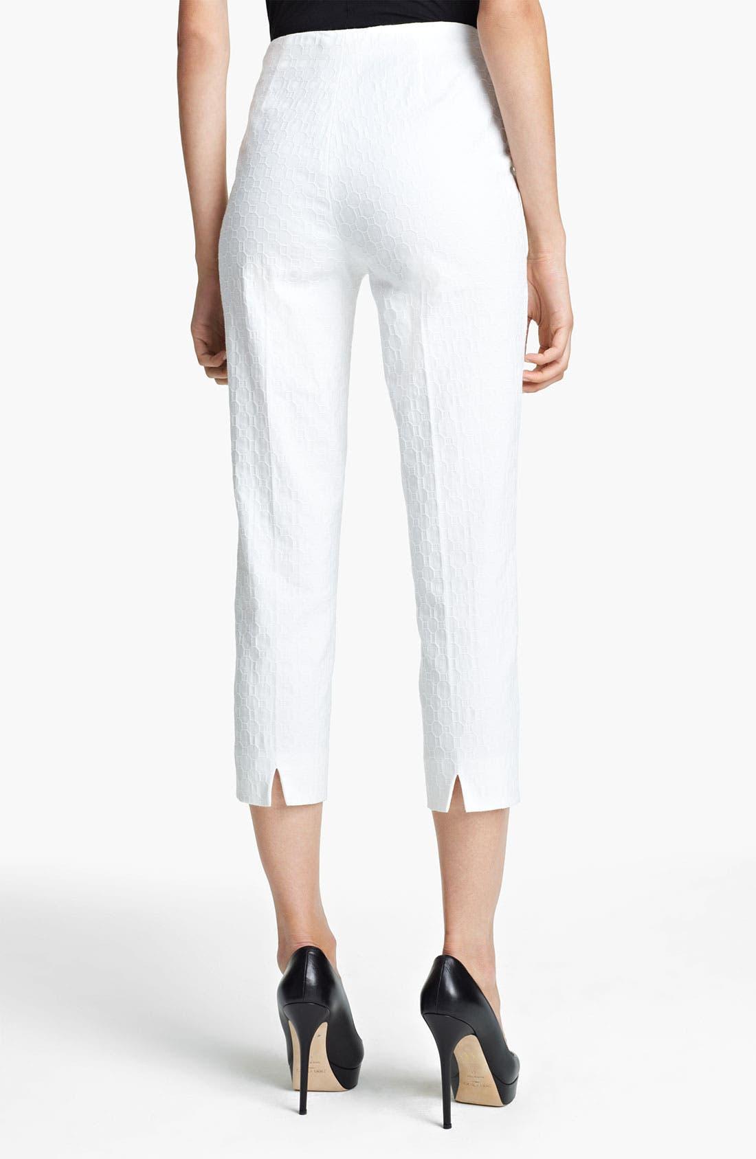 Alternate Image 2  - Piazza Sempione 'Audrey' Jacquard Pants