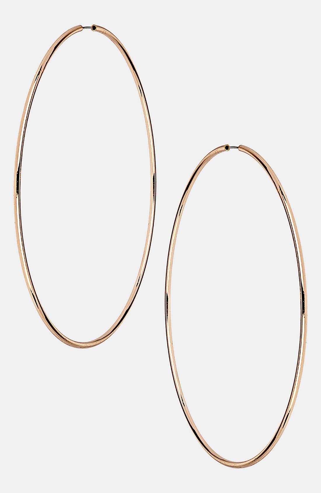 Main Image - Topshop Oversized Hoop Earrings