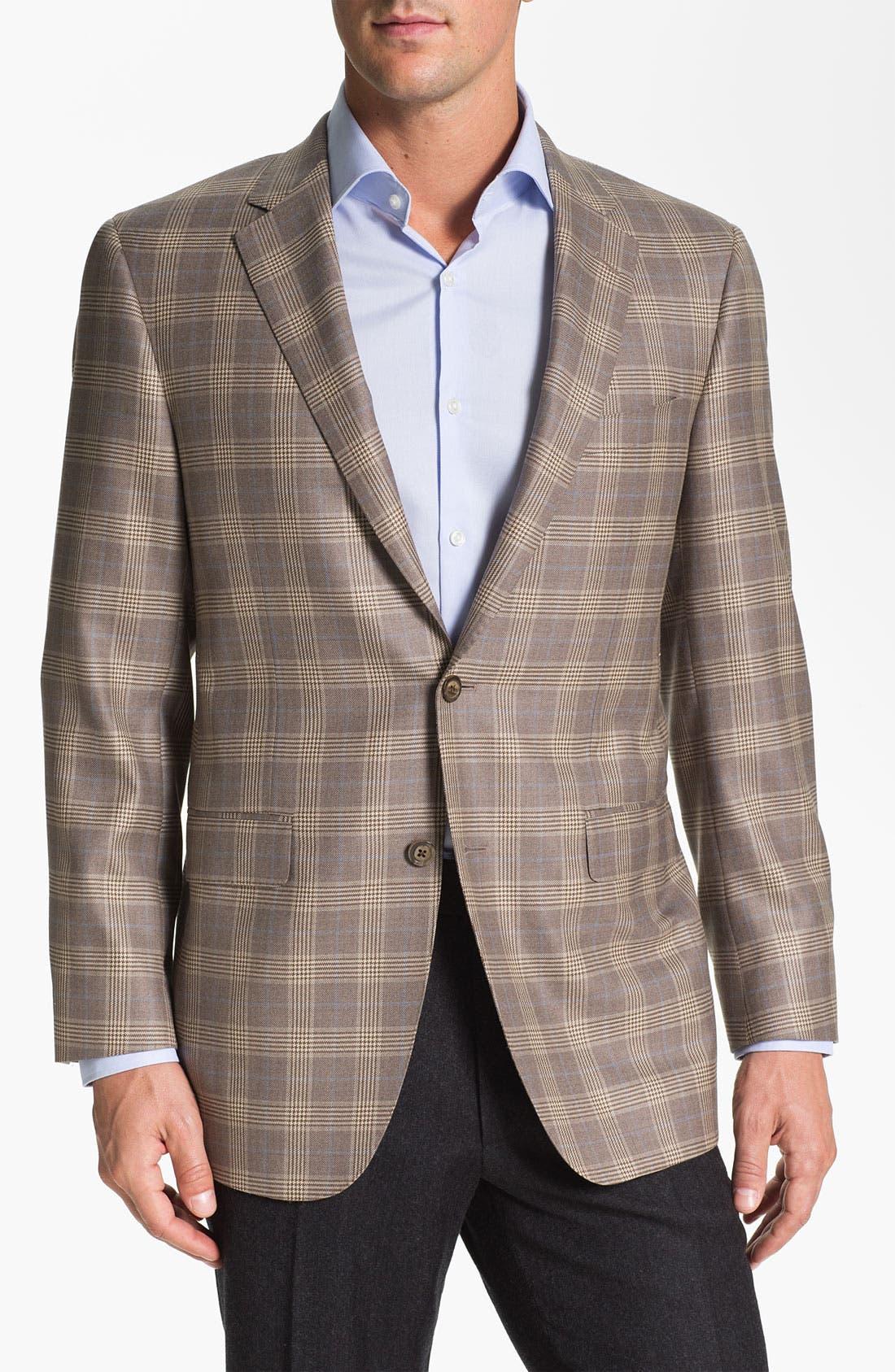 Alternate Image 1 Selected - Samuelsohn Plaid Sportcoat