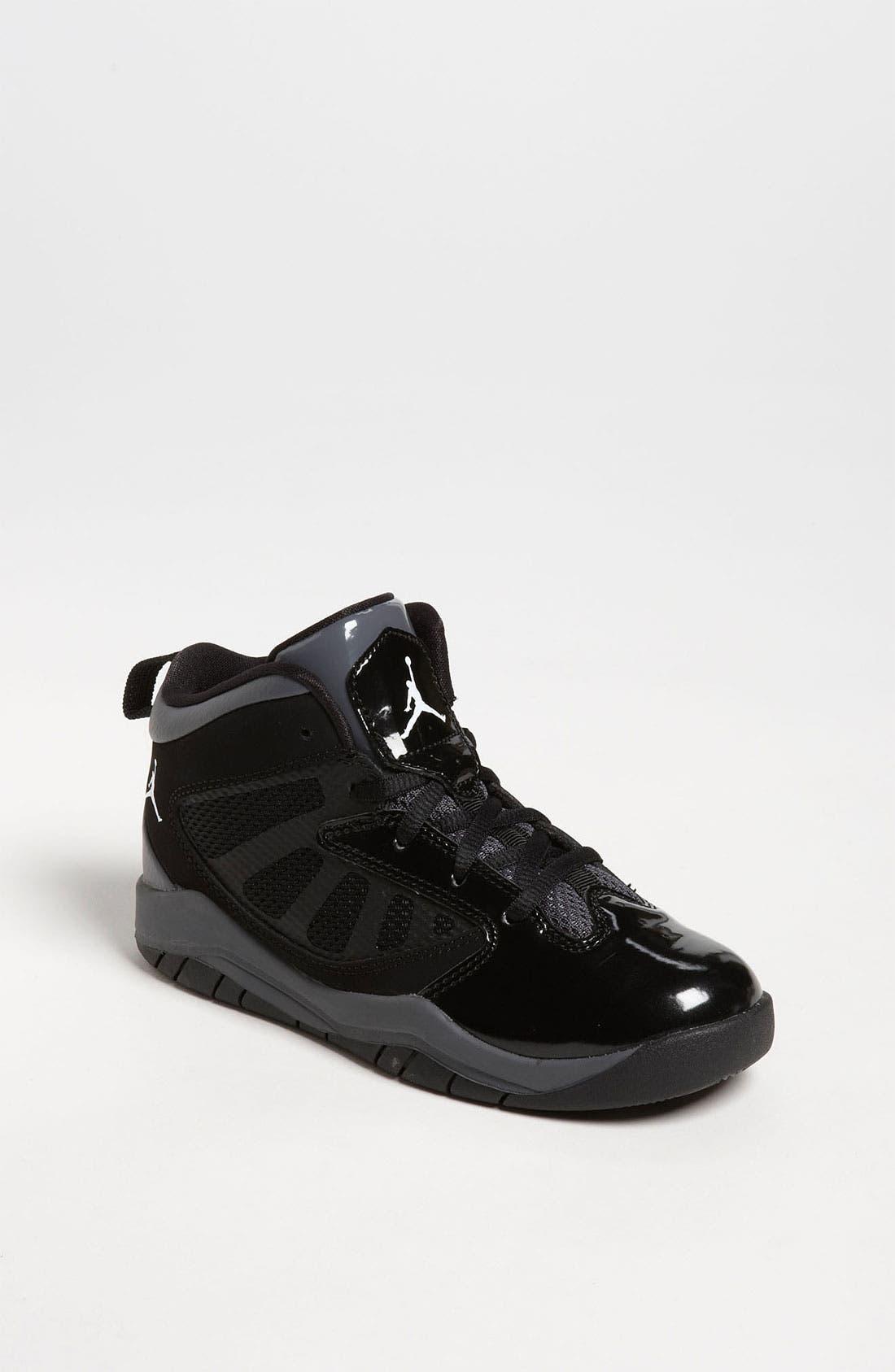 Alternate Image 1 Selected - Nike 'Jordan Flight Team 11' Basketball Shoe (Toddler & Little Kid)