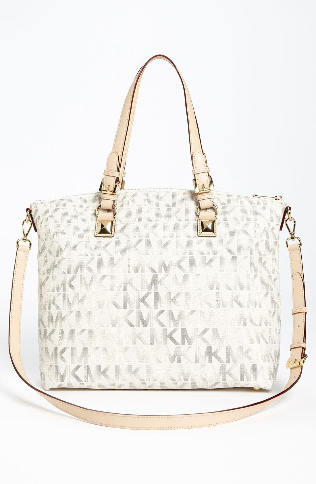 Alternate Image 4  - MICHAEL Michael Kors 'Jet Set - Signature' Tote