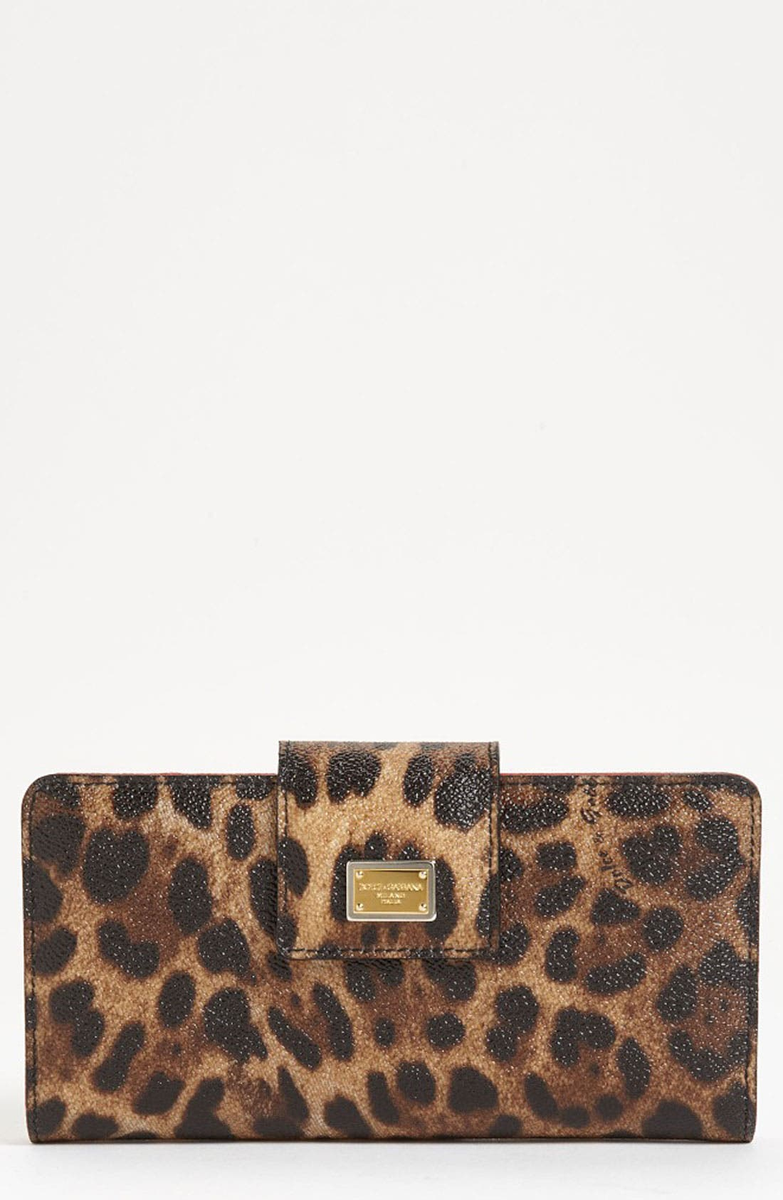 Alternate Image 1 Selected - Dolce&Gabbana Continental Wallet