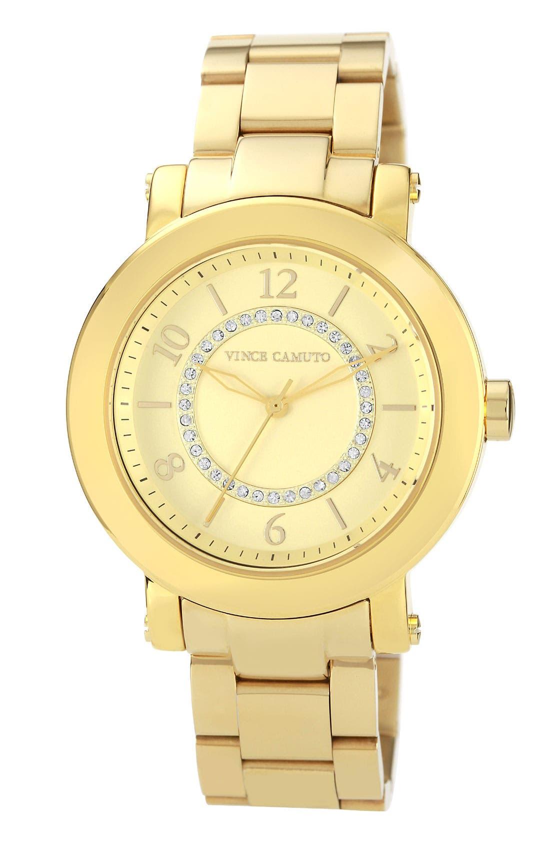 Main Image - Vince Camuto Round Bracelet Watch, 40mm