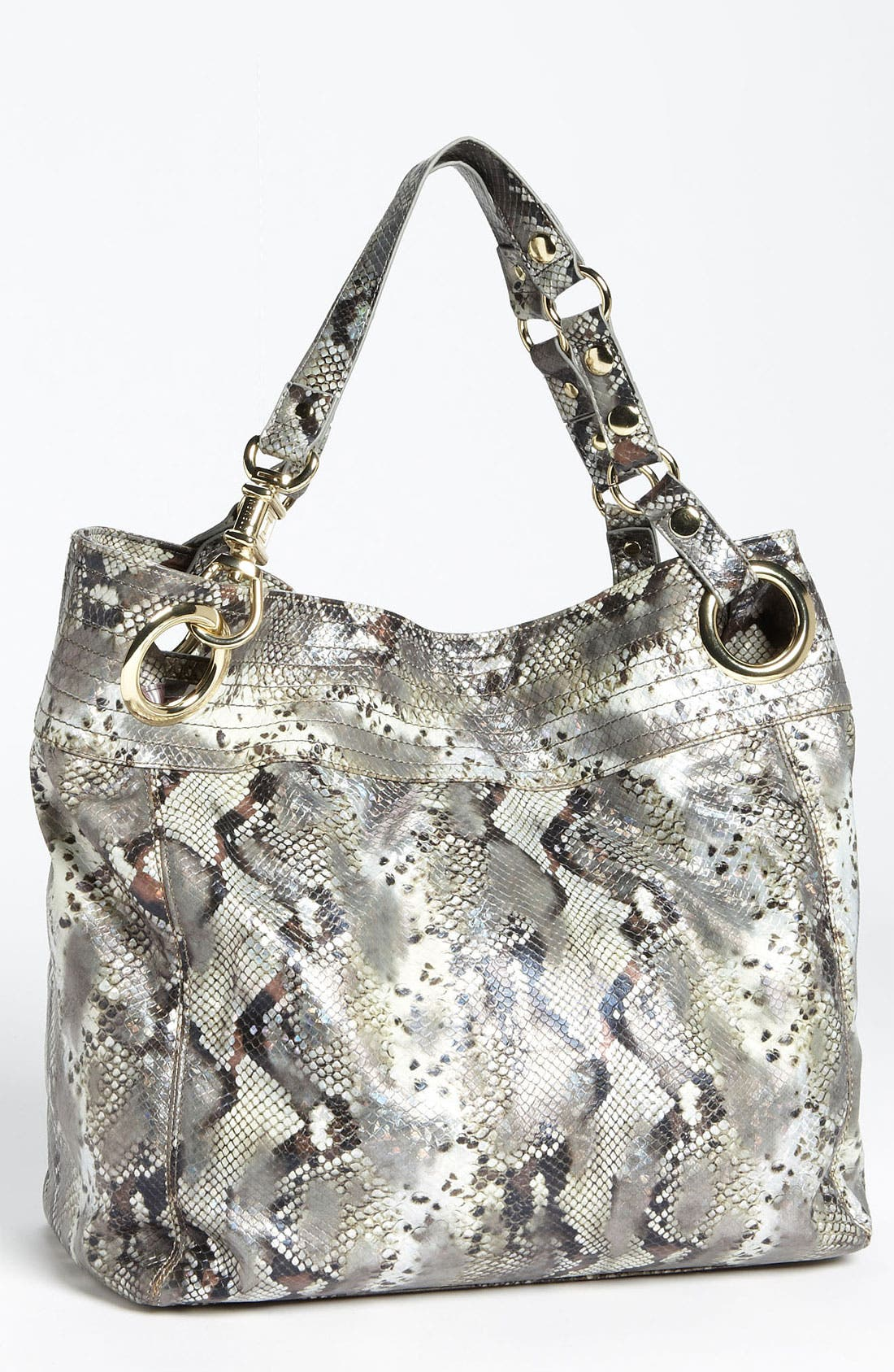 Alternate Image 1 Selected - Steven by Steve Madden 'Candy Coated' Snake Embossed Tote