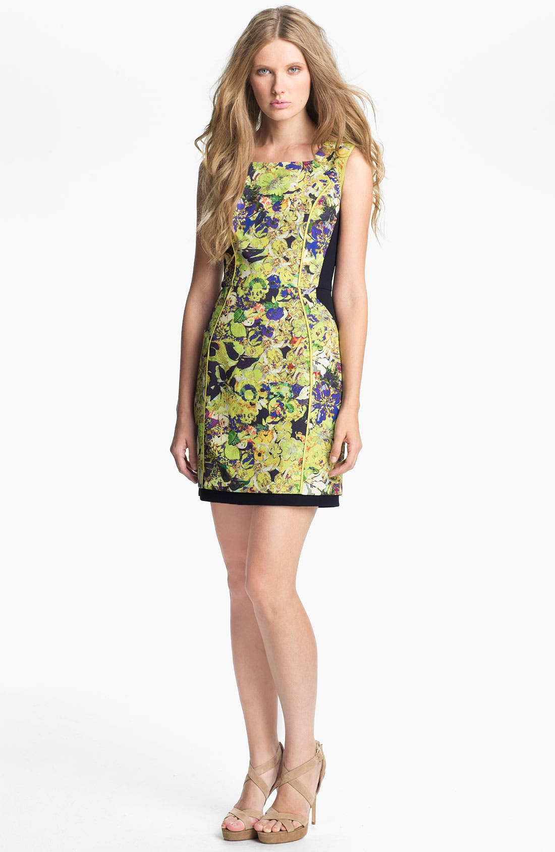 Alternate Image 1 Selected - Mcginn 'Kinsey' Print Fitted Dress