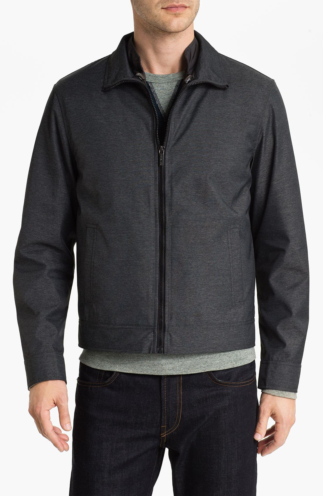 Alternate Image 1 Selected - Michael Kors 3-in-1 Mélange Twill Jacket (Online Exclusive)