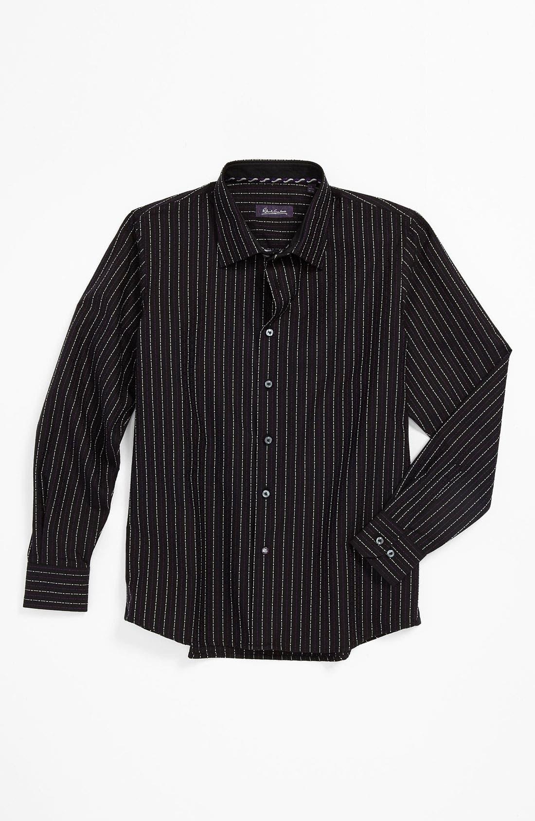 Alternate Image 1 Selected - Robert Graham 'Matt' Dress Shirt (Big Boys)