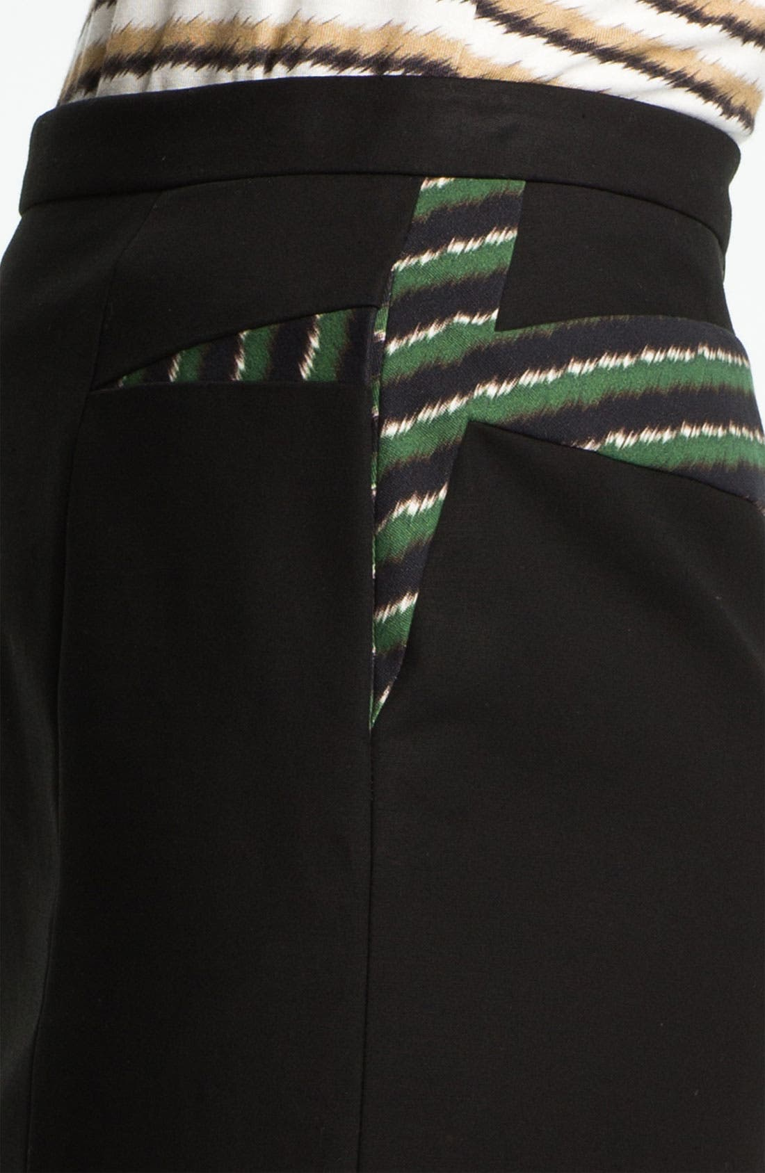 Alternate Image 4  - KENZO Inverted Print Panel Skirt