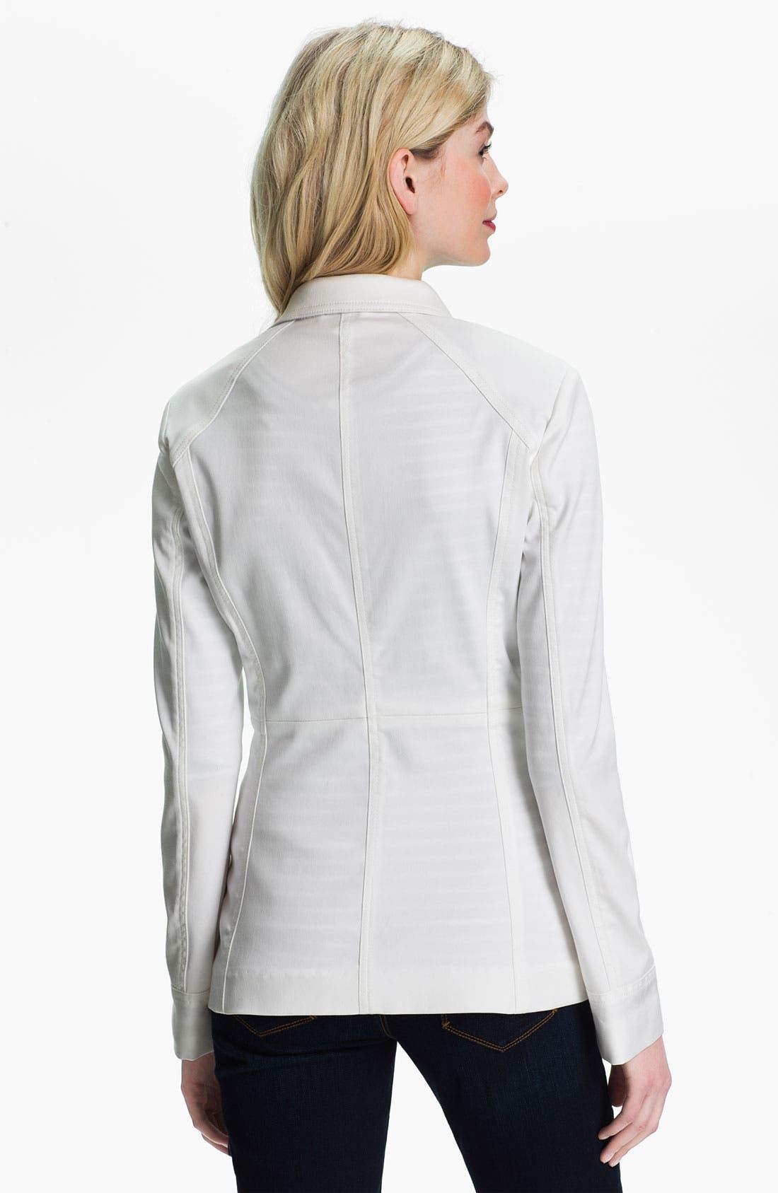 Alternate Image 2  - Isaac Mizrahi Jeans 'Blair' Blazer (Online Exclusive)