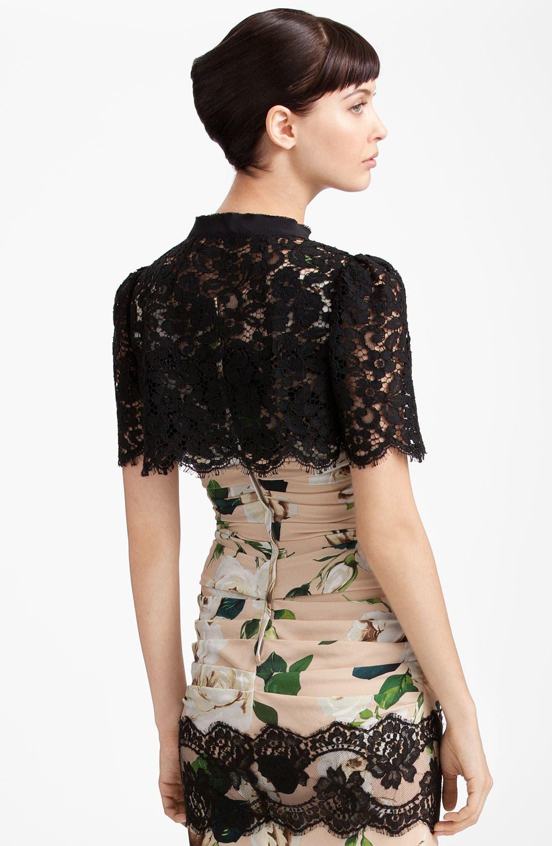 Alternate Image 2  - Dolce&Gabbana Lace Bolero