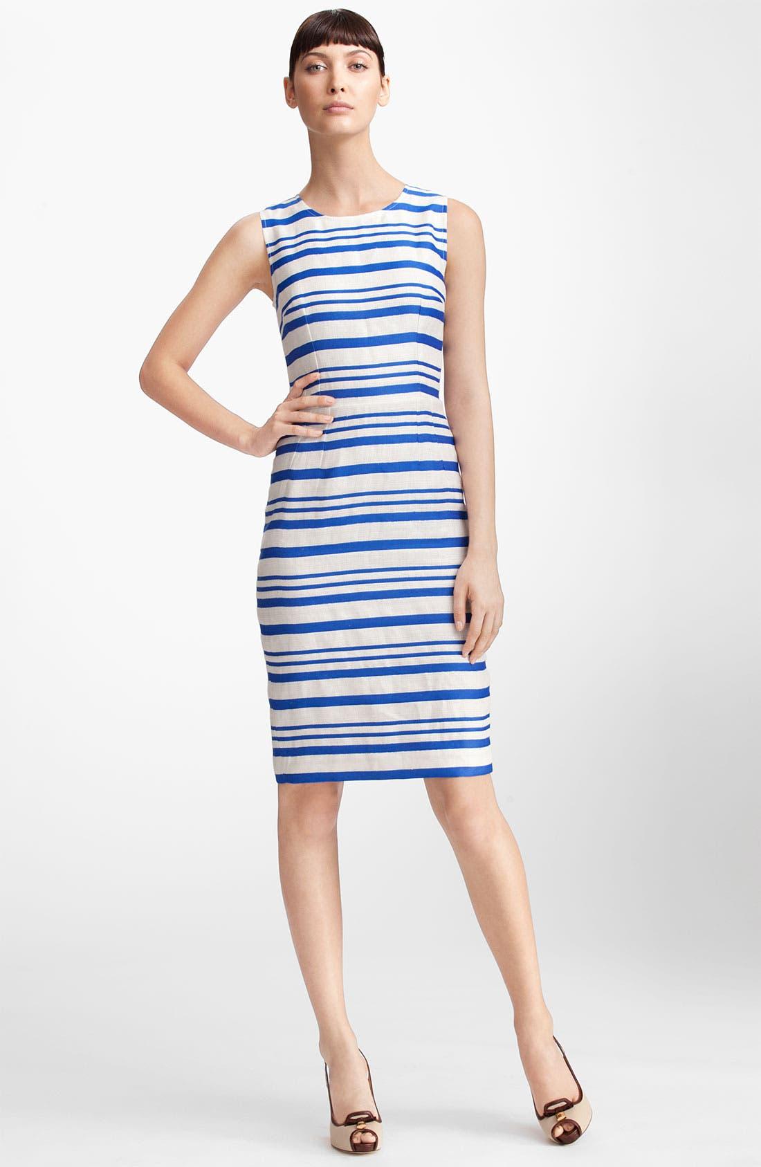 Alternate Image 1 Selected - Dolce&Gabbana Stripe Pencil Dress