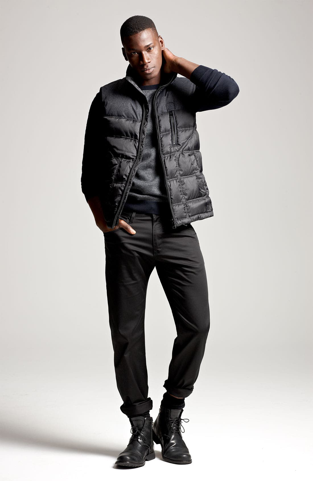 Alternate Image 4  - BOSS Black 'Darnom' Quilted Down Vest