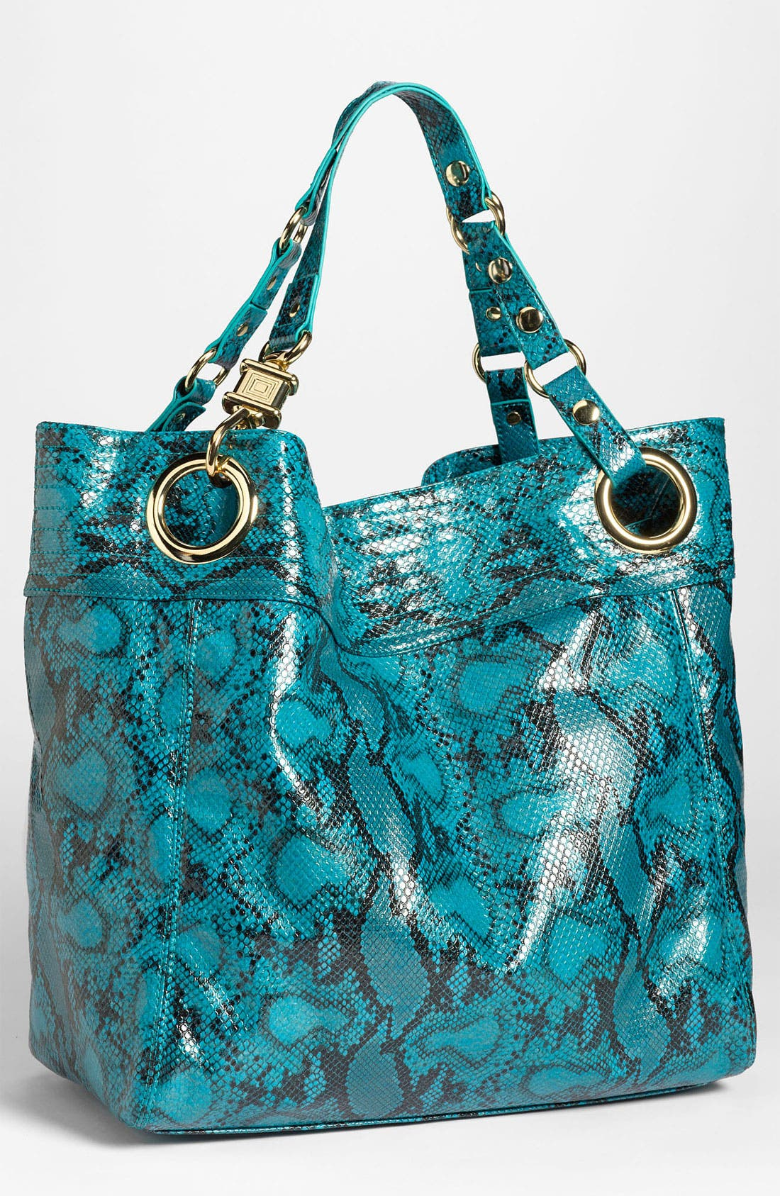 Main Image - Steven by Steve Madden 'Candy Coated' Snake Embossed Tote