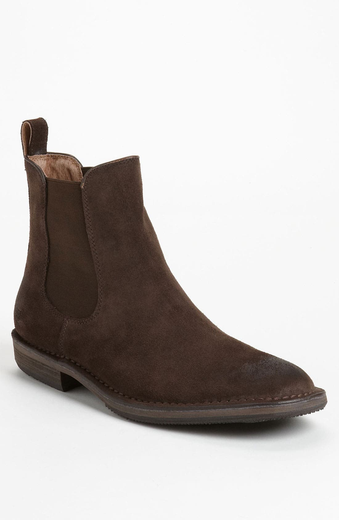 Alternate Image 1 Selected - Andrew Marc Suede Chelsea Boot