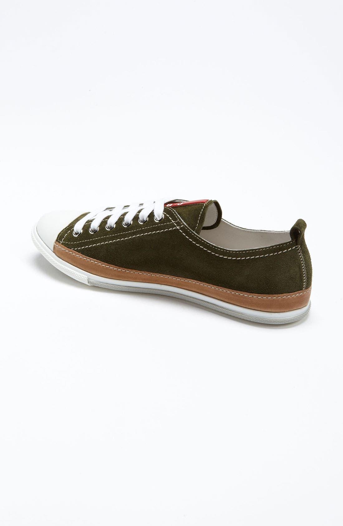 Alternate Image 2  - Prada Suede Sneaker