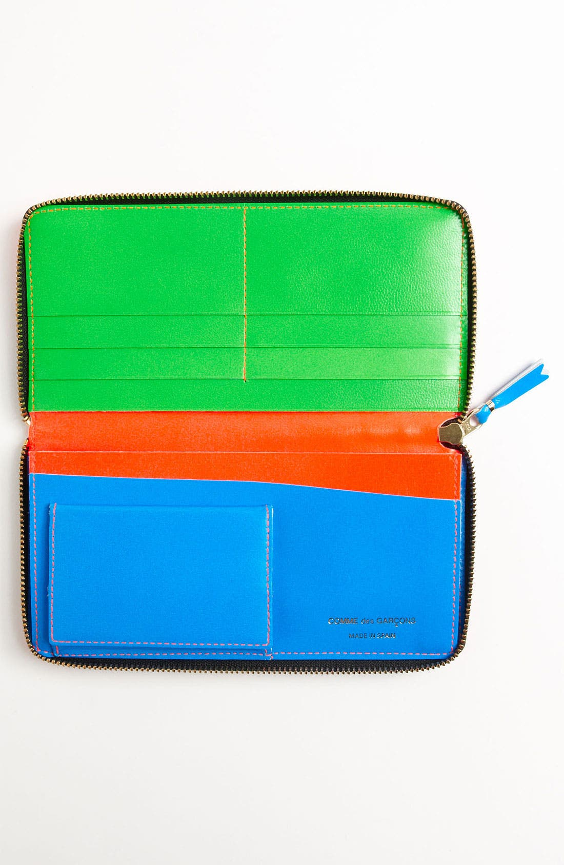 Alternate Image 3  - Comme des Garçons 'Super Fluo' Continental Wallet