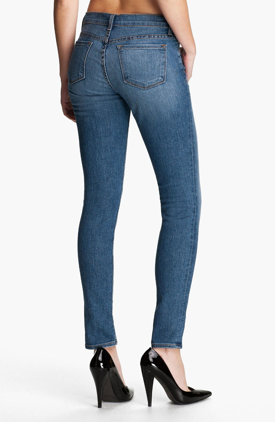 Alternate Image 2  - J Brand Stretch Denim Skinny Jeans (Bliss)