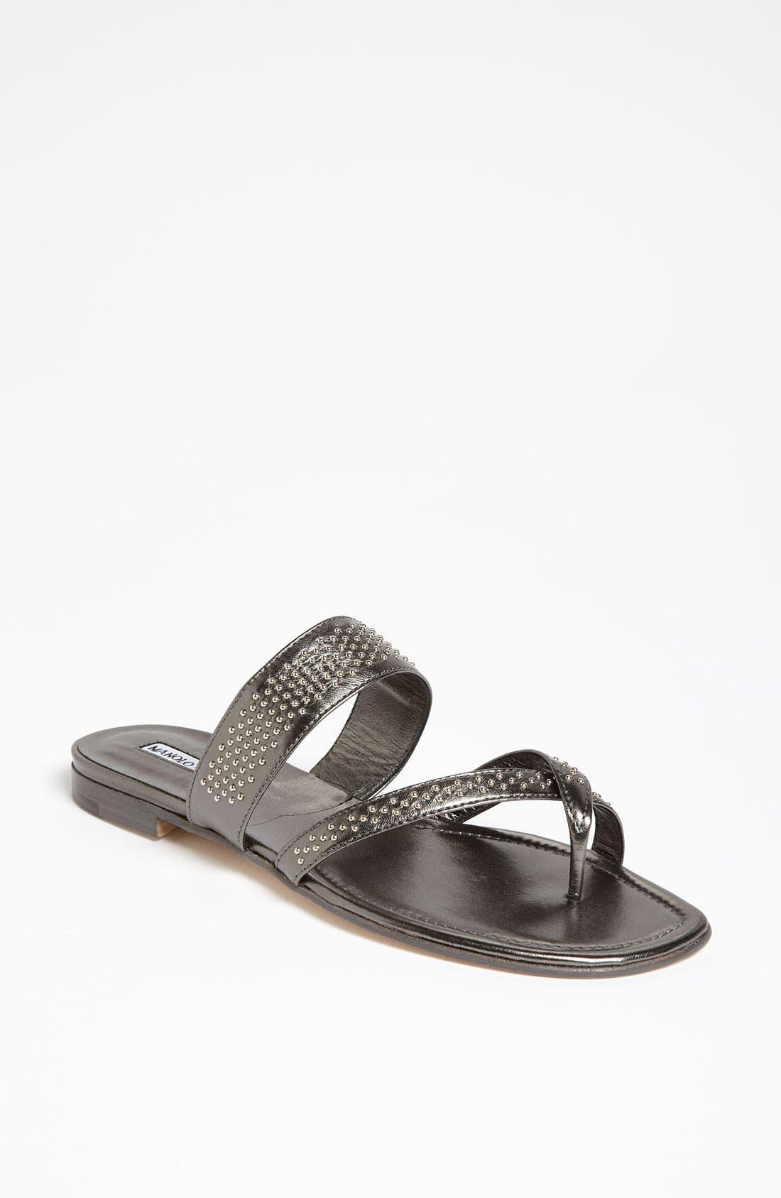 Main Image - Manolo Blahnik 'Susabor' Sandal