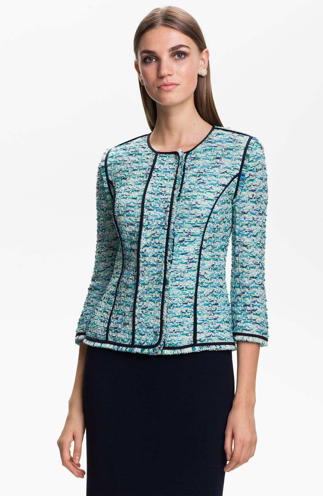 Main Image - St. John Collection 'Valmer' Tweed Jacket