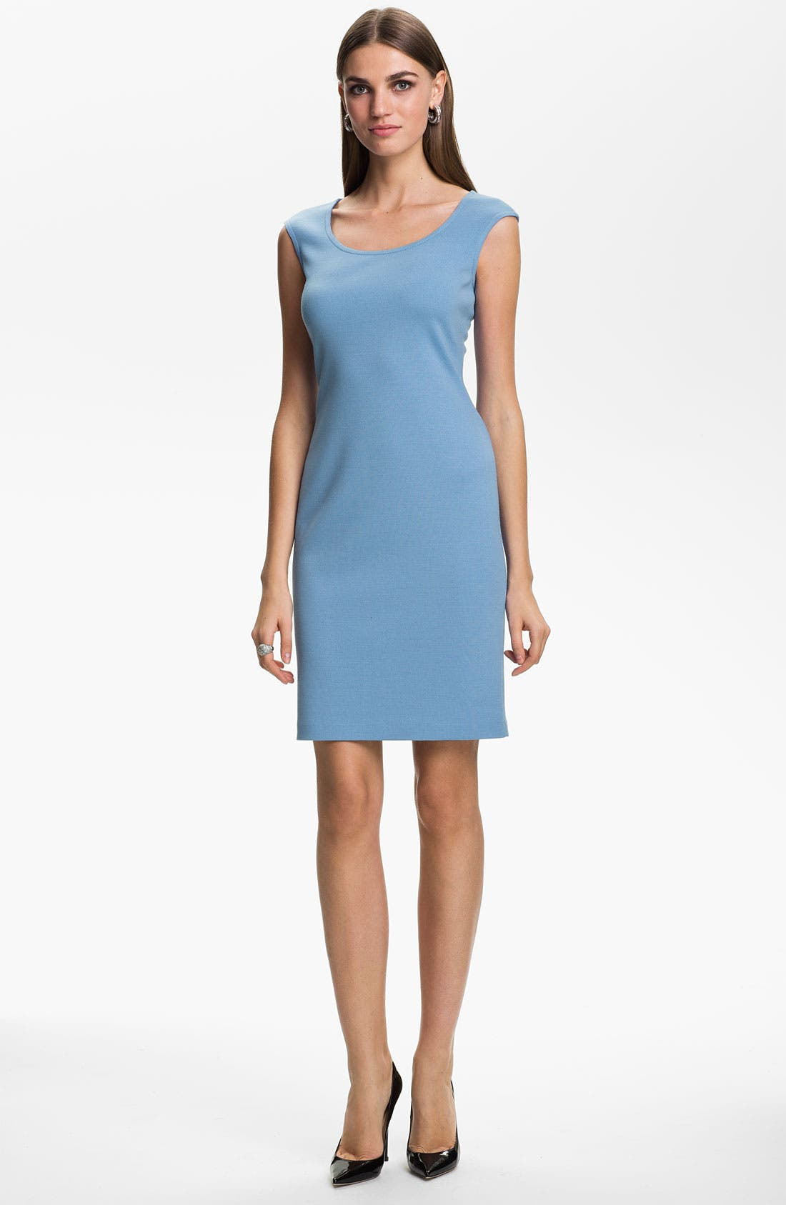 Main Image - St. John Collection Knit Sheath Dress