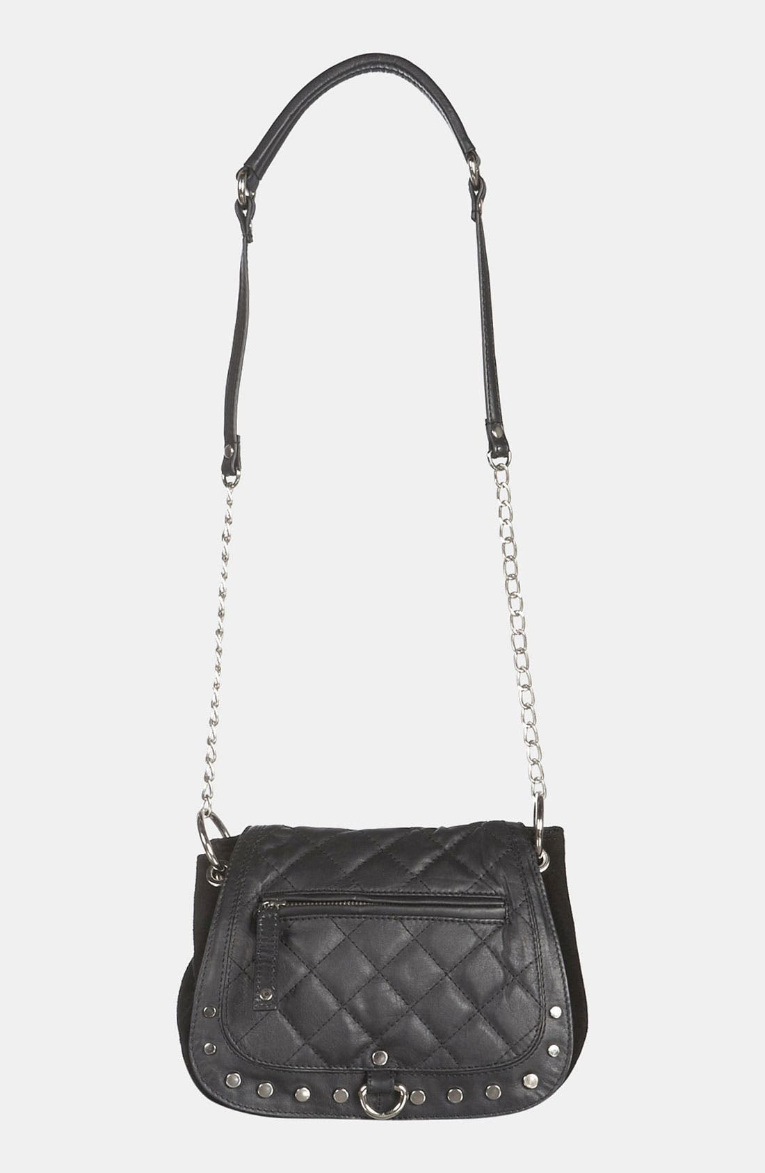 Alternate Image 2  - Topshop Quilted Crossbody Bag