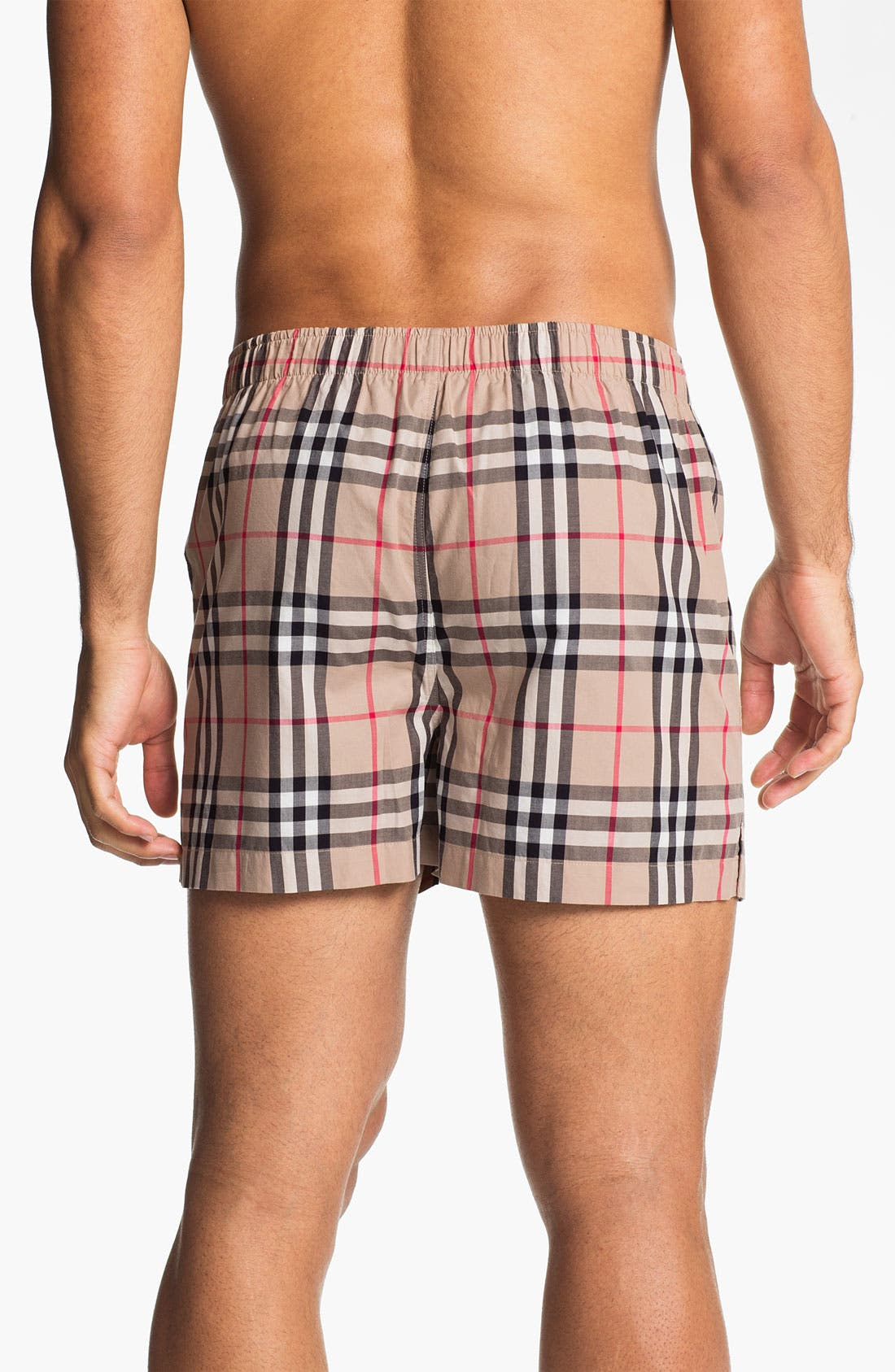Alternate Image 2  - Burberry Cotton Boxers (Assorted 3-Pack)