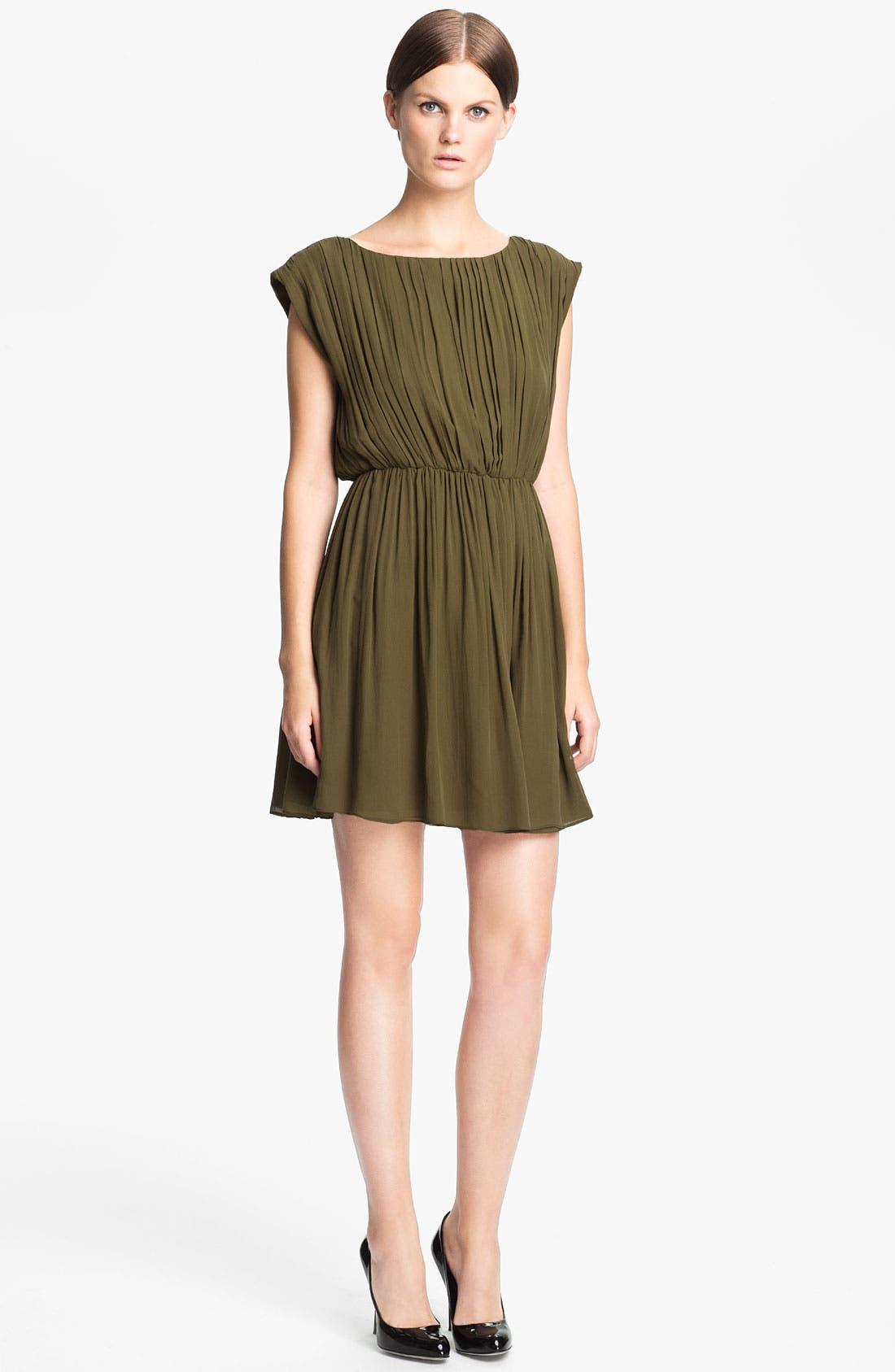 Alternate Image 1 Selected - Alice + Olivia 'Josie' Ruched Blouson Dress