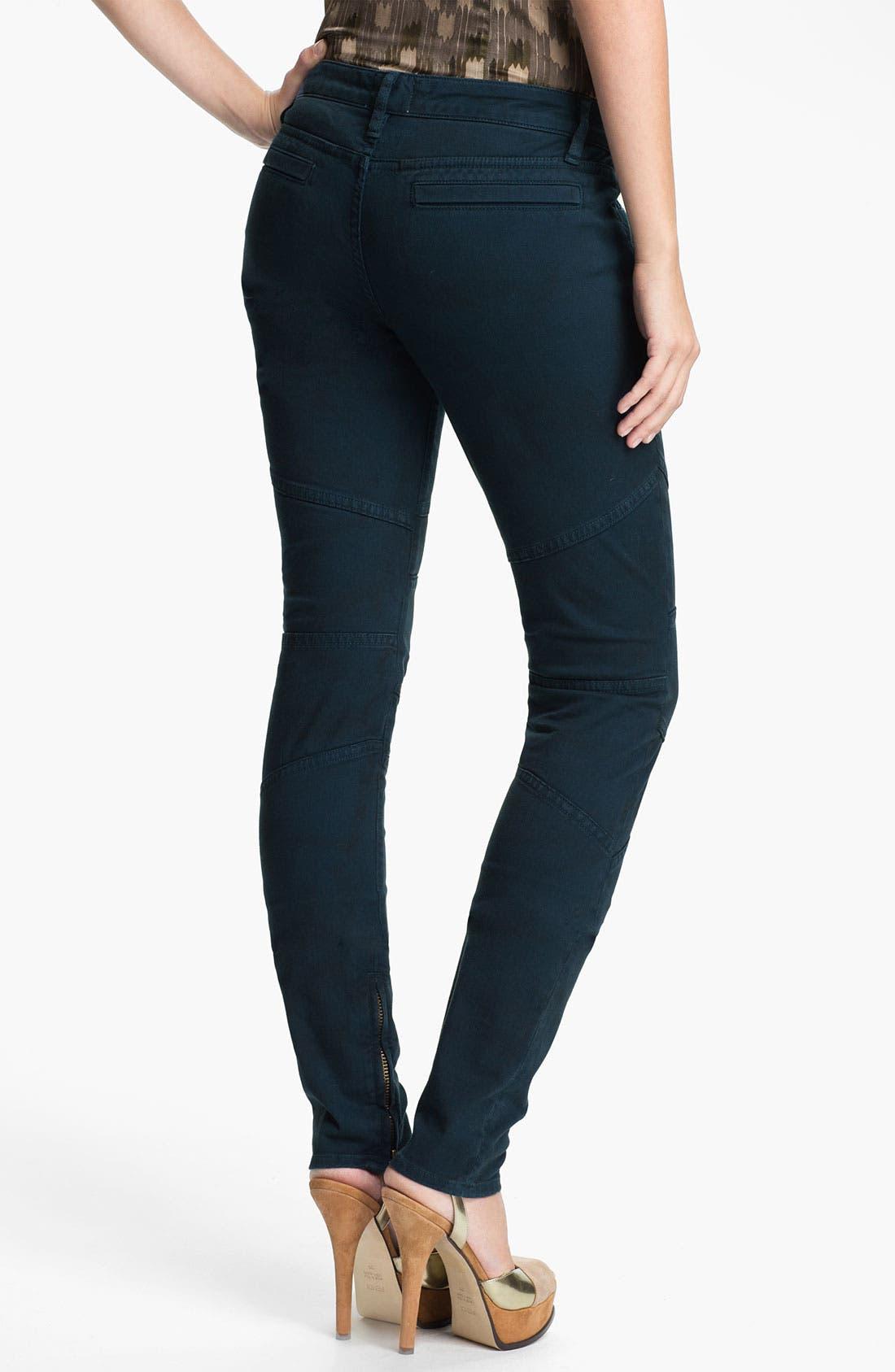 Alternate Image 2  - Skaist-Taylor Twill Moto Pants