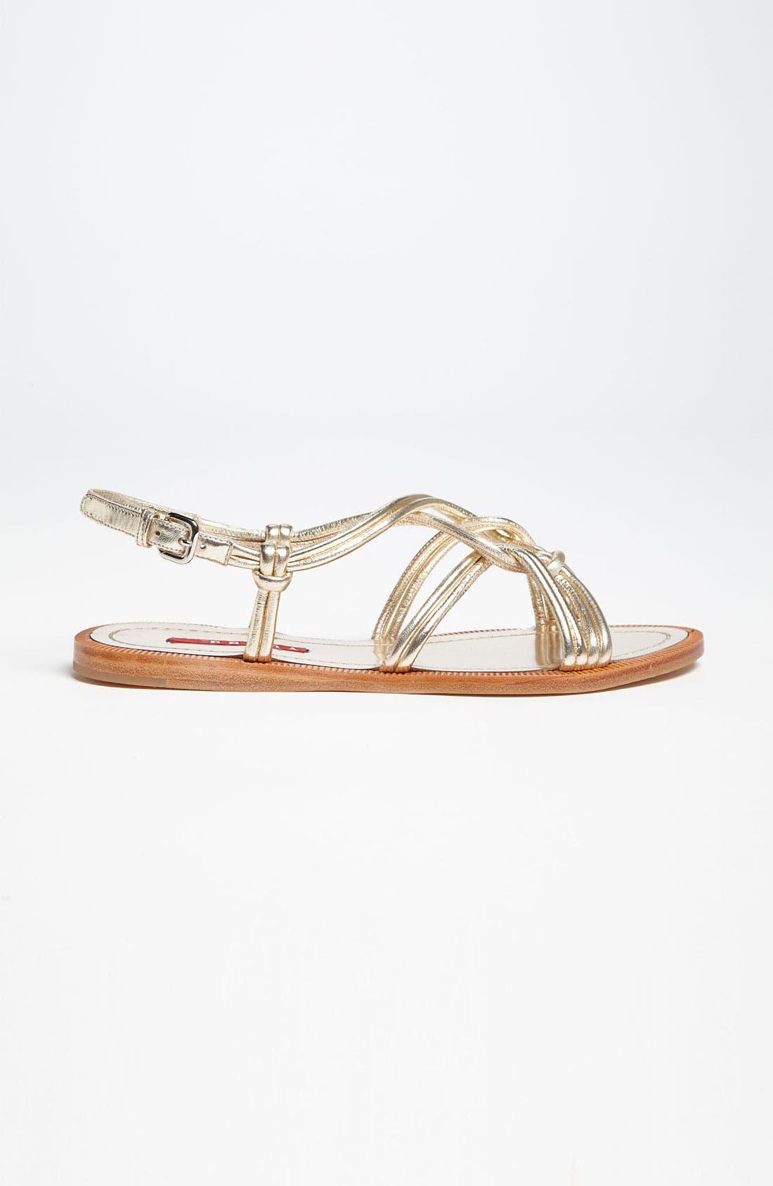 Alternate Image 4  - Prada Knot Strap Sandal