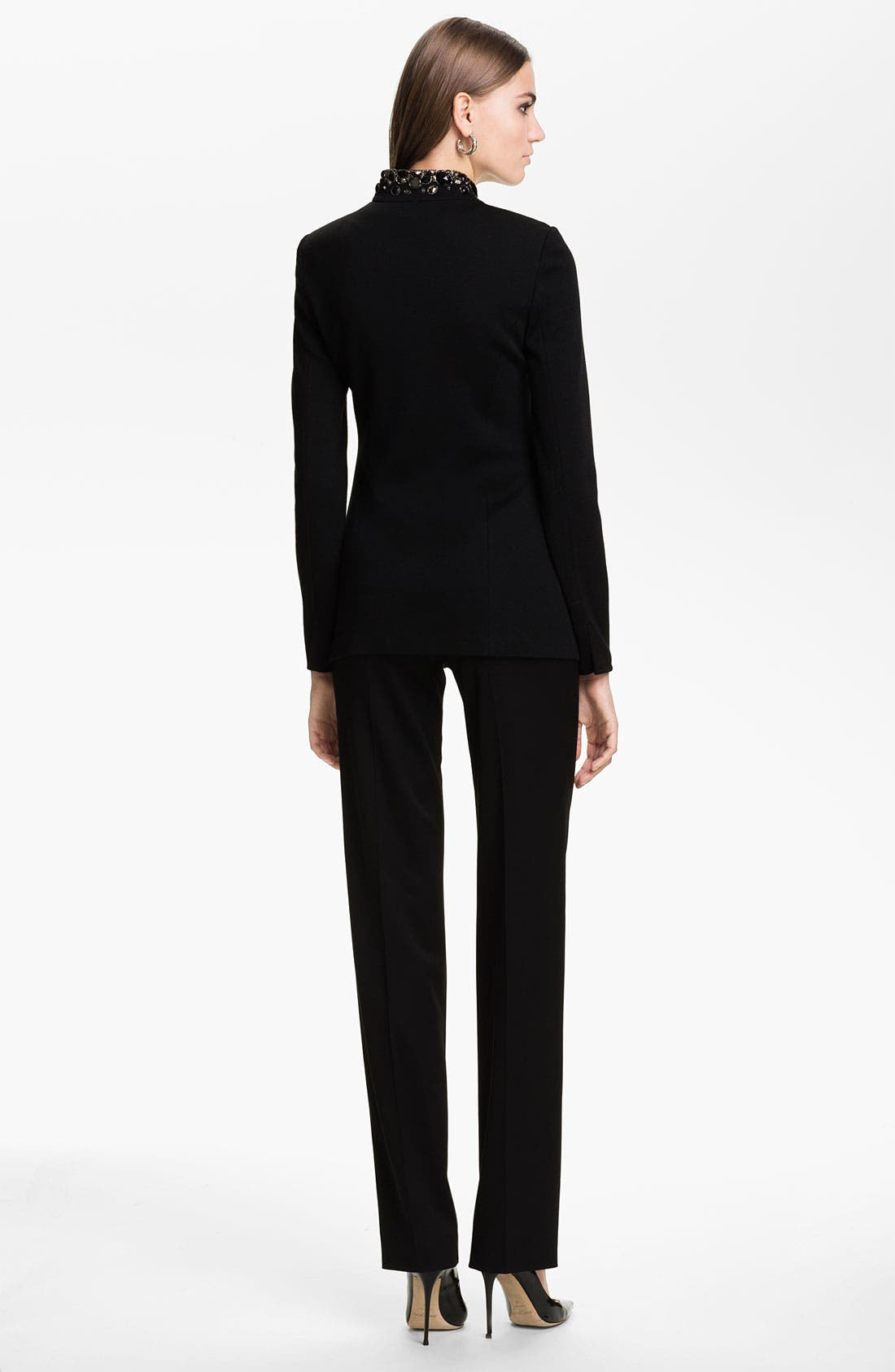 Alternate Image 5  - St. John Collection 'Diana' Stretch Venetian Wool Pants