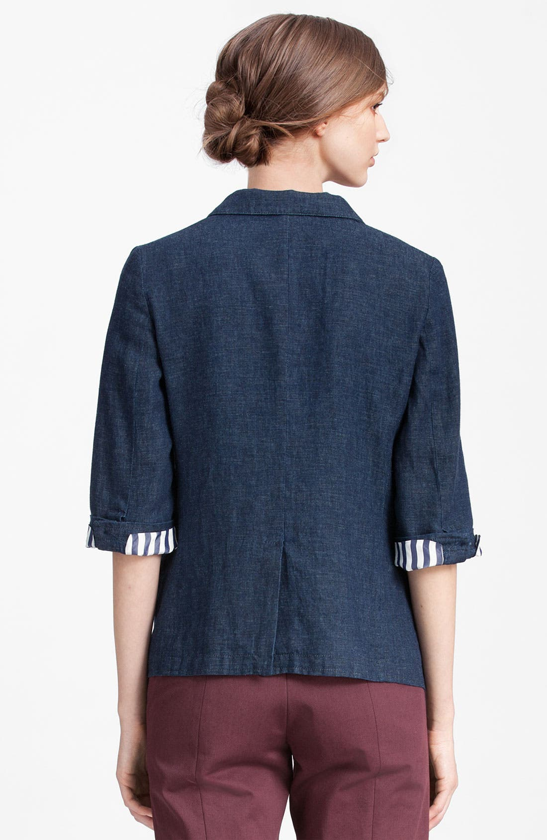 Alternate Image 2  - Marni Edition Double Breasted Denim Jacket