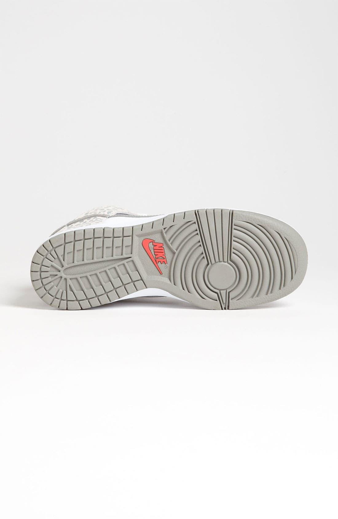 Alternate Image 4  - Nike 'Dunk High Skinny' Sneaker (Women)